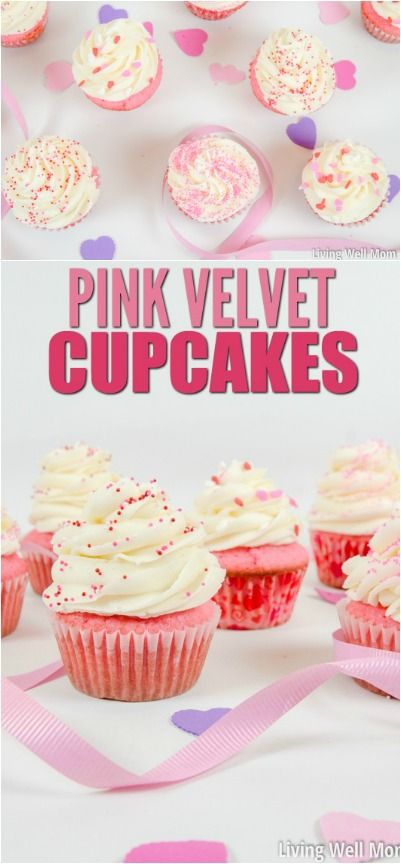 Baby Shower Cupcake Flavor Ideas : 25+ best ideas about Pink velvet cupcakes on Pinterest ...