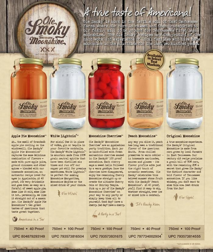 ole smoky apple pie moonshine - Google Search
