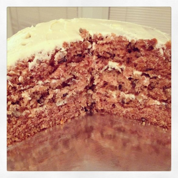 The best carrot cake you'll ever have!