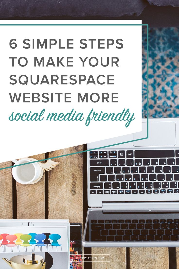 I am allllllll about working smarter, and more efficiently. If there are things I can do to save myself a few minutes here and there, then I'm all over it. As a Squarespace user, there are a few things you can do to make your website more social media friendly.