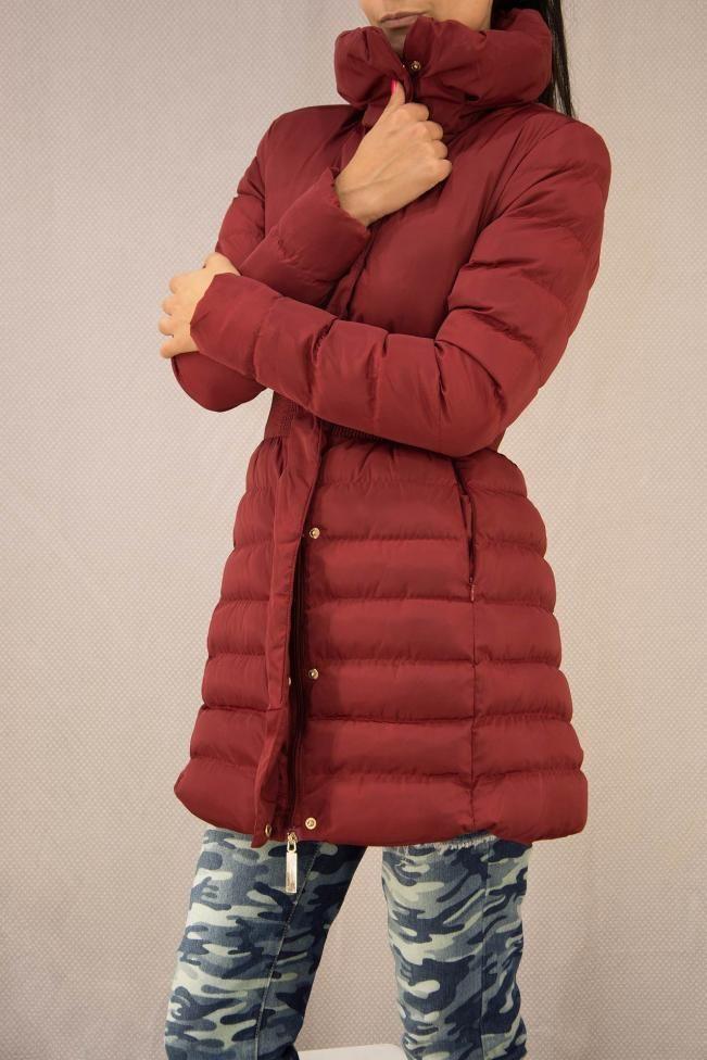 Γυναικείο μπουφάν αδιάβροχο  MPOU-1430-bu Γυναίκα - Πανωφόρια - Μπουφάν