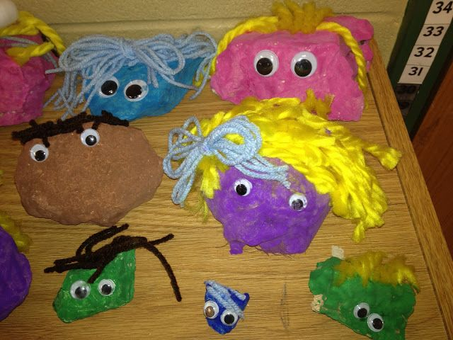 pet rocks - use this idea but paint them gold for the unit on gold.