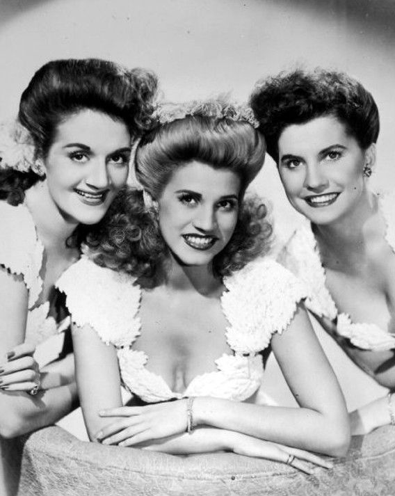 The Andrews Sisters, circa 1940s.