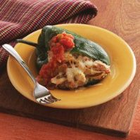 Grilled & Stuffed Peppers by @mytexaslife