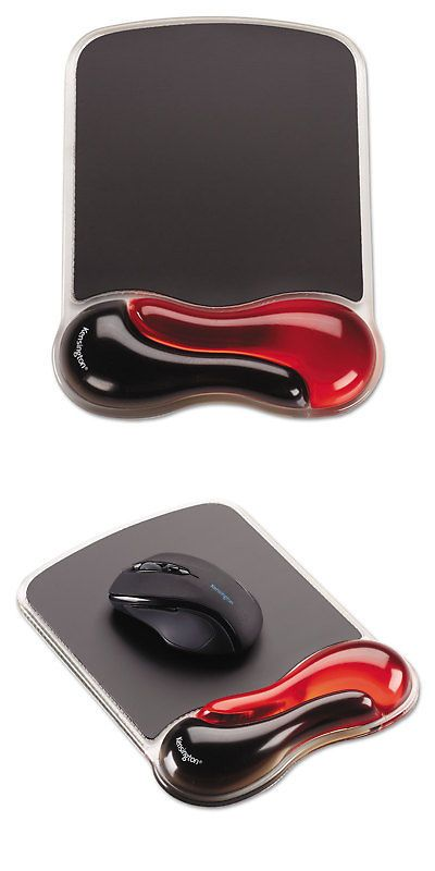 152df1908bd Mouse Pads and Wrist Rests 23895: Kensington Duo Gel Wave Mouse Pad With Wrist  Rest Red 62402 -> BUY IT NOW ONLY: $16.67 on #eBay #mouse #wrist #rests #  ...