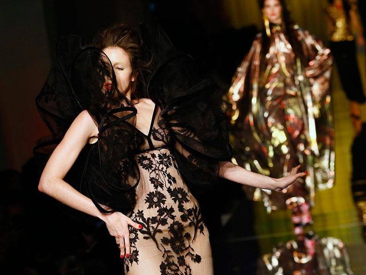 Paris Couture Week: Valentino designer in solo couture debut as Gaultier goes acid