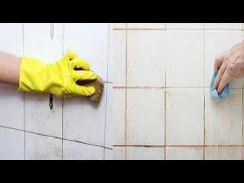 No vuelvas a usar cloro jamás, deja blanco los azulejos de tu baño con esta increíble técnica - YouTube