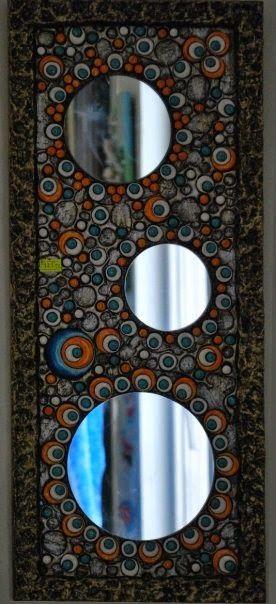 Dekoratif Resimler (Ayşegül Arslan) Kişisel Web Sayfası: Seramik Rölyef Aynalar 4.Albüm