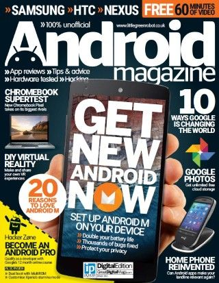 Android Magazine UK – Issue 53, 2015-P2P Free Download