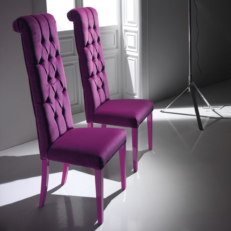 2018 Purple Dining Chair - Rustic Modern Furniture Check more at http://www.ezeebreathe.com/purple-dining-chair/