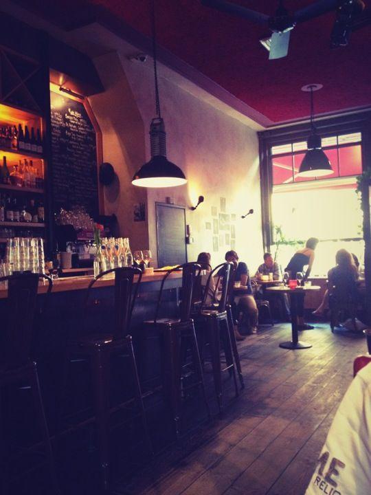cosy bistro in de Pijp. Restaurant Braque in Amsterdam, Noord-Holland