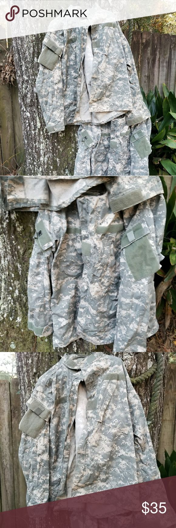 Army Combat Uniform tops Both are med reg barely used. Great for hunting work etc.. & Other Stories Jackets & Coats Lightweight & Shirt Jackets