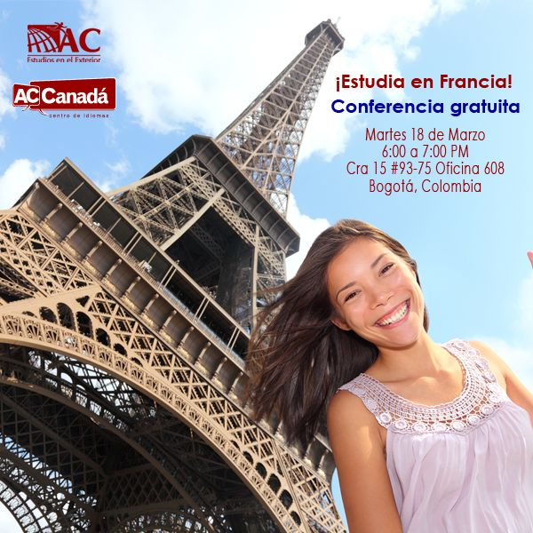 ¡Sonríe nos vamos para Francia!  Estudia con AC estudios en el Exterior, participa en su conferencia gratuita.  Inscríbete: http://190.144.31.94/acsolutions/jobs/publicregistro/RFloRzkzYjBxeUpmSXhmczJndVZvVXViV3d2bmlSMkcwRmdhQzltYXNkYXNkaQ==:7685934234309657453542496749683645/Y2FtcGFpbg==:27/a2V5Zm9ybQ==:RFloRzkzYjBxeUpmSXhmczJndVZvVXViV3d2bmlSMkcwRmdhQzltYXNkYXNkaQ==