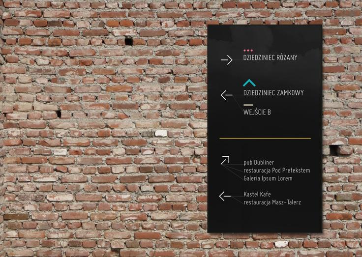 Centrum Kultury Zamek - identyfikacja, wayfinding