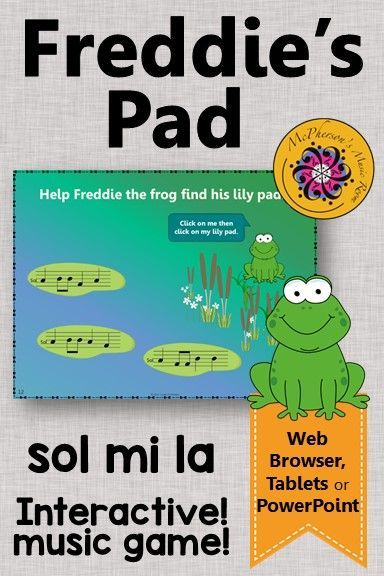 Melody Game! This interactive elementary music game is perfect for the digital classroom and aurally identifying sol mi la. Great music education resource for centers and subs!