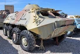Captured Egyptian/Syrian Soviet BTR-60 Armoured Personnel … | Flickr BTR-60 Armoured Personnel Carriers were captured by the IDF from Egyptian and Syrian armies during the 1973 Yom Kippur War