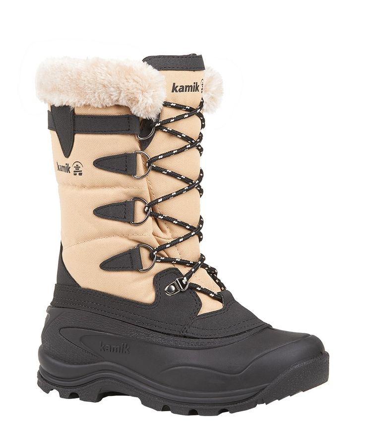 Kamik Shellback insulated waterproof winter boot - recyclable with replaceable liners