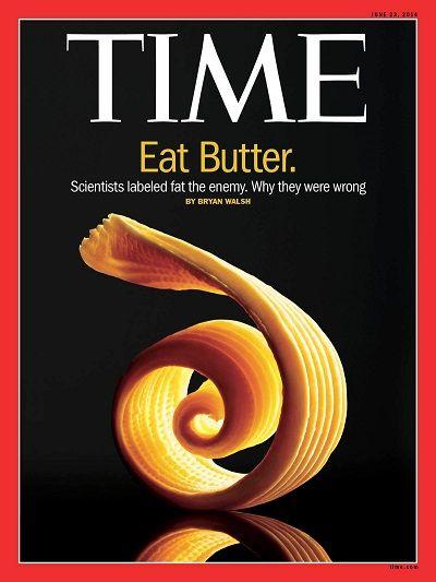 """""""Come mantequilla"""". Toda la verdad sobre el consumo de grasas saturadas y su efecto sobre la salud."""