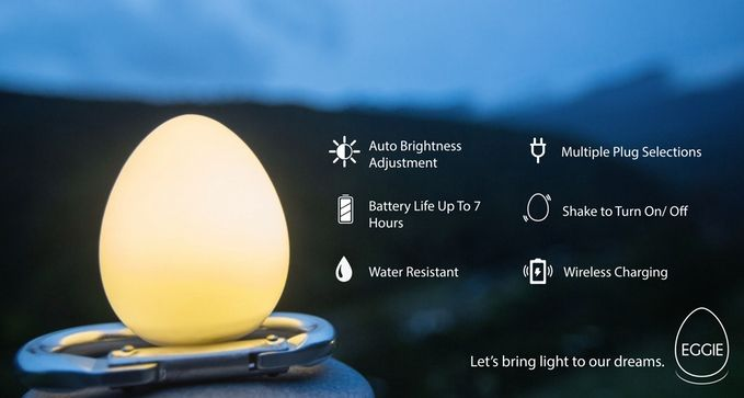 With great functions implanted into this little Eggie, we hope that this little cutie can light up your world