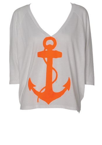 Alloy Neon Anchor: Anchor Shirts, Clothes, Fashion Jewelry, Closet, Anchors ️, Neon Anchors, I D Wear, Anchor Tee, Lake Shirt