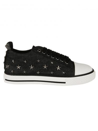 RED VALENTINO Valentino Red Red Valentino Stars Studded Sneakers. #redvalentino #shoes #https:
