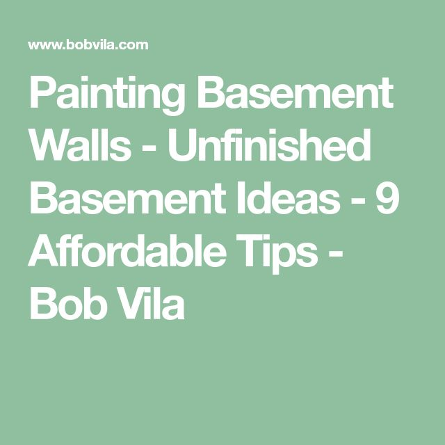 Best 25+ Painting basement walls ideas on Pinterest ...