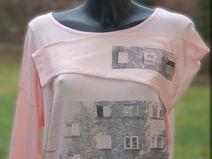 koszulka- Różowa kamienica