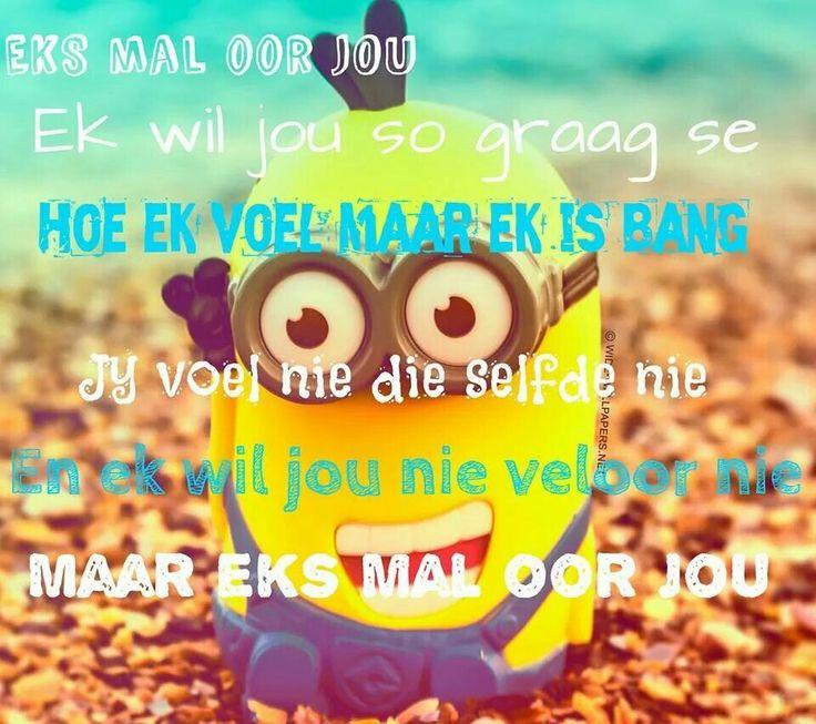 Mal oor jou......Afrikaans