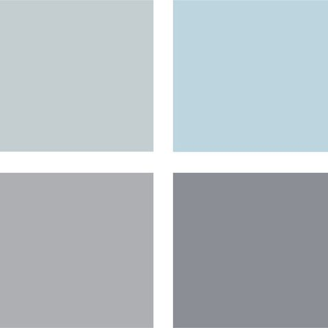 Best 25 blue grey bathrooms ideas on pinterest small for Blue gray paint palette