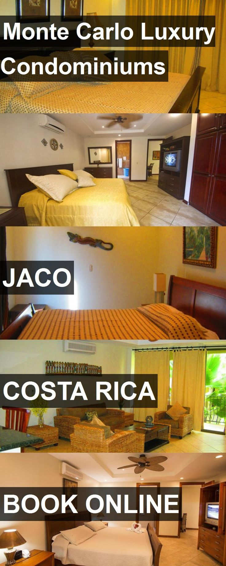 Hotel Monte Carlo Luxury Condominiums in Jaco, Costa Rica. For more information, photos, reviews and best prices please follow the link. #CostaRica #Jaco #travel #vacation #hotel