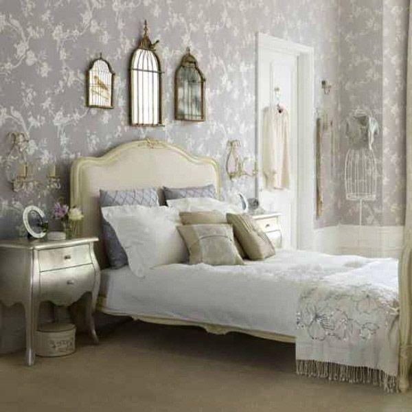 Shabby Chic Bedroom | gray bedrooms | Pinterest