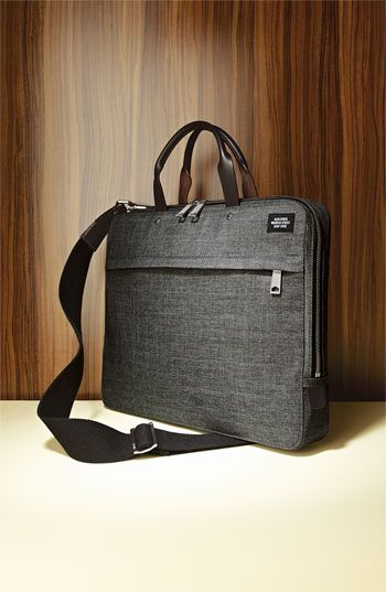 Jack Spade 'Tech Oxford' Slim Laptop Briefcase, a bit more modern and in a color i have a ton more stuff for...