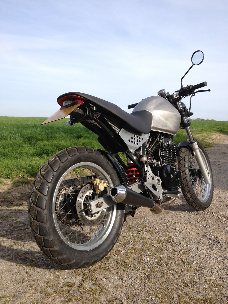 Honda FX 650 cafe/tracker (With images) Dual sport