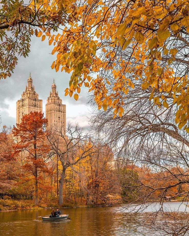 Central Park in Autumn by Mike Gutkin   by newyorkcityfeelings.com - The Best Photos and Videos of New York City including the Statue of Liberty Brooklyn Bridge Central Park Empire State Building Chrysler Building and other popular New York places and attractions.