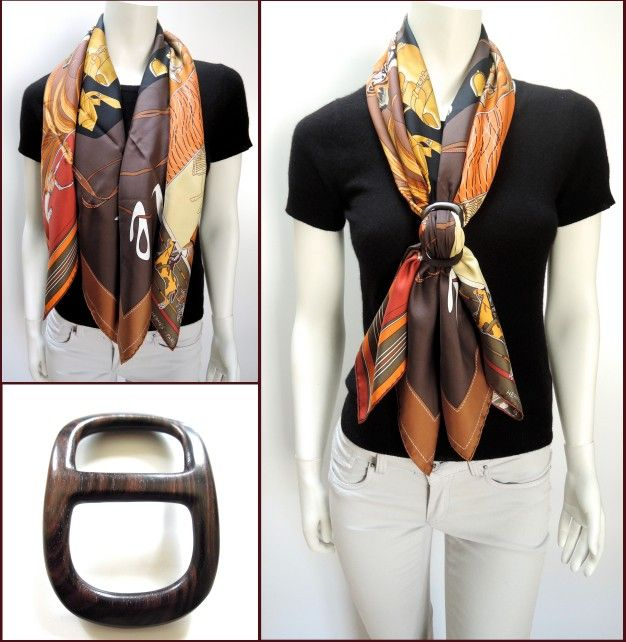 love this look. I need a scarf ring