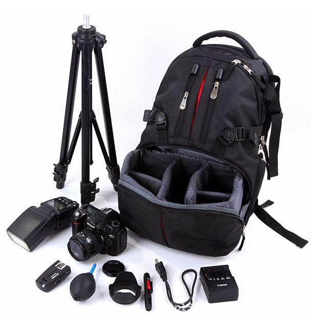 Nylon Waterproof Shockproof Camera Laptop Bag Lens Case Backpack For Canon Nikon #UnbrandedGeneric