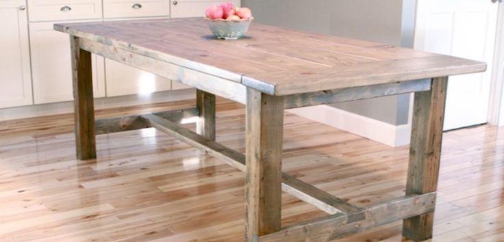 Fabriquer une table robuste