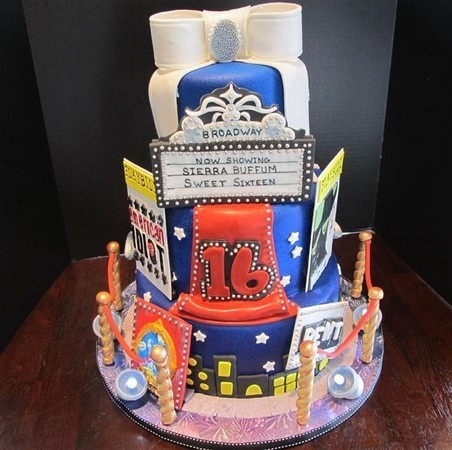 Musical Theatre Th Birthday Cakes