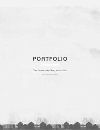 Academic Portfolio, Revised 2015 More