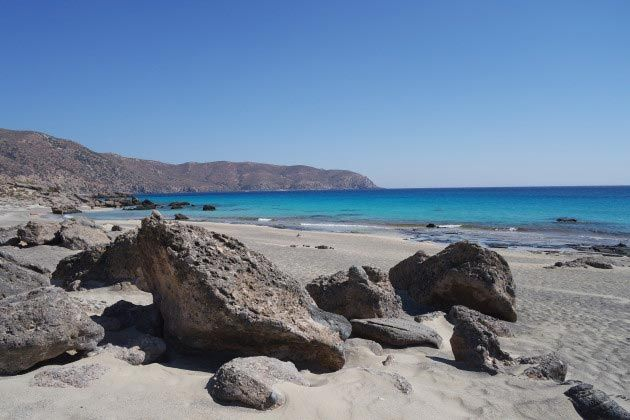 Which are the best beaches in Chania Crete Greece? Here you will find the top 5 that include Elafonisi beach and Balos beach.