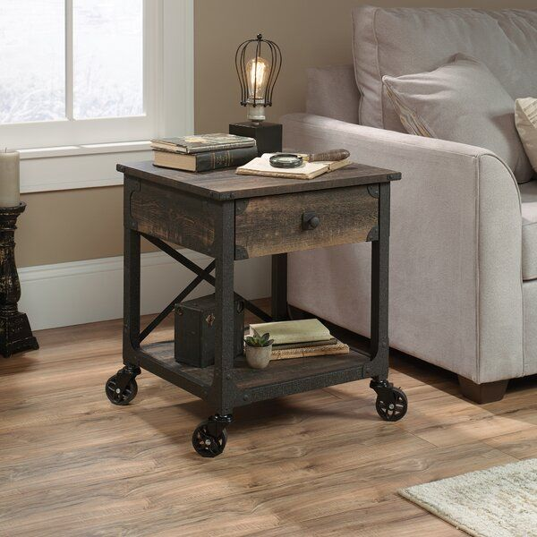 Ruthton End Table With Storage With Images End Tables With