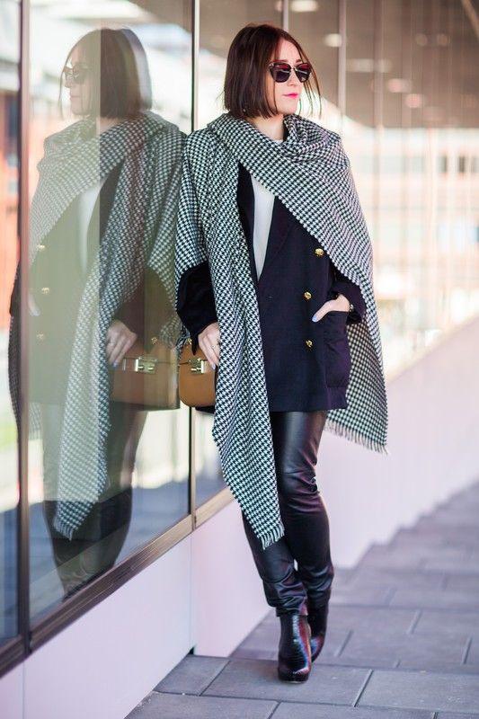 Street fashion: Fashion Week Poland wiosna-lato 2015, Shiny Syl, fot.Szymon Brzóska/East News