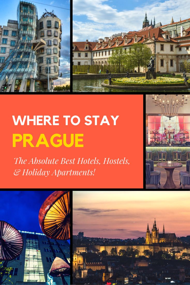 The best hotels, hostels, and holiday apartment rentals in Prague for any budget. Whether you're a budget backpacker, solo traveler, business traveler, or a family Prague has accommodations for everyone at every budget. Check out our articles on the best accommodation options Prague has to offer!