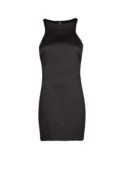 MANGO - Textured bodycon dress
