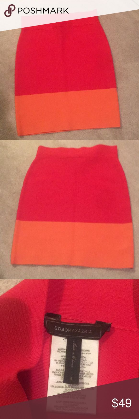 New listing..BCBG skirt Cute and sexy bcbg form fitting skirt BCBG Skirts Mini