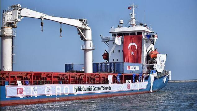Kapal Bantuan Turki Berangkat Ke Gaza Membawa Hadiah Lebaran  [portalpiyungan.com] MERSIN - Sebuah kapal bantuan Turki yang membawa 11.000 ton pasokan untuk Jalur Gaza meninggalkan pelabuhan selatan Mersin Jumat (1/7) sore. Kapal Turki The Lady Leyla berlayar ke selatan menuju pelabuhan Ashdod Israel (yang selanjutnya didrop ke Gaza) membawa 2.000 ton beras 5.000 ton tepung 3.000 ton gula 500 ton minyak goreng dan 10.000 paket makanan selain 100.000 potong pakaian 20.000 sepatu dan 10.000…
