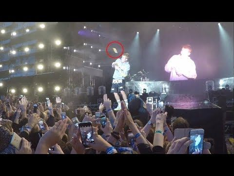 Angry Fan Throws Bottle At Justin Bieber For Admitting He Can't Sing The Spanish Hit Despacito         |          Niger Delta Entertainment