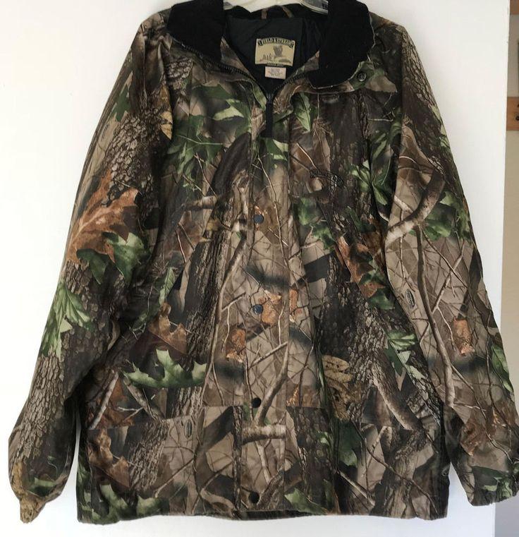 Field & Stream Mens Field Jacket XL RealTree Camo  #Realtree