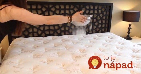 Viete, prečo by ste mali aj vy nasypať na posteľ túto surovinu?