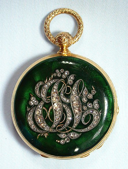 201 best heirloom pocket watches images on pinterest pocket beautiful swiss 18k gold diamond and enamel keywind ladies antique pendant watch circa 1860 mozeypictures Images